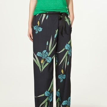 Широки панталони с ириси
