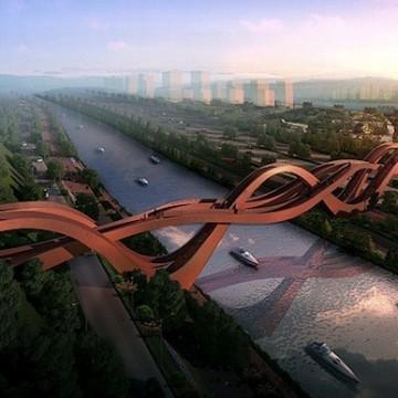 Загадъчната лента на Мьобиус като мост в Китай