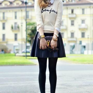 Вдъхновени от Pinterest: Ученическите униформи в модата