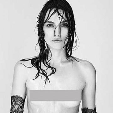 Голата гръд на Кийра Найтли e феминистки протест