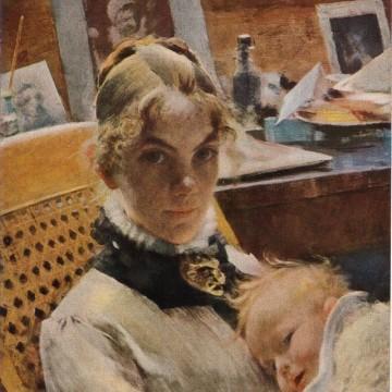 Карин Бергьо-Ларшон, създателката на уютния шведски стил