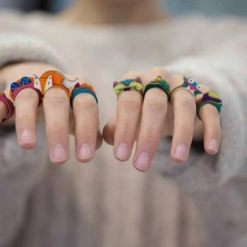 Малко цветни ДРЪВкулки за нашите ръце