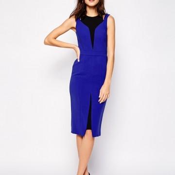 Находка на деня: Елегантна рокля в кралско синьо