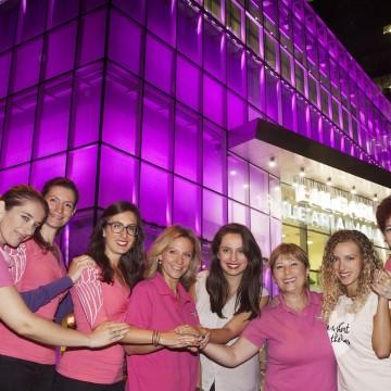 През октомври Bulgaria Mall ще свети в розово в подкрепа срещу рака на гърдата