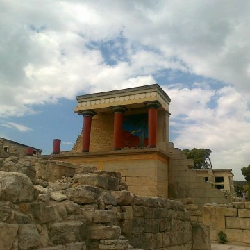 Летни маршрути: Дворецът на цар Минос на остров Крит