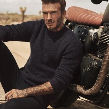 Дейвид Бекъм за новата кампания на H&M