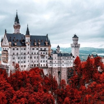 20 вдъхновяващи замъка, където всеки си мечтае да е рицар или принцеса