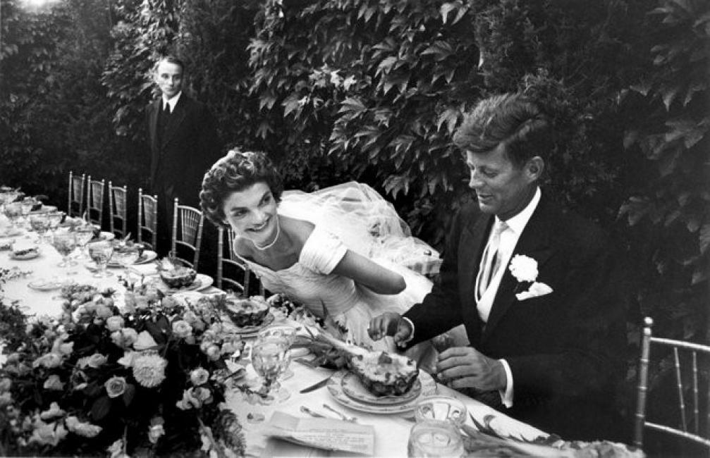 Джаки и Джон Кенеди - една от най-бляскавите сватби на XX век