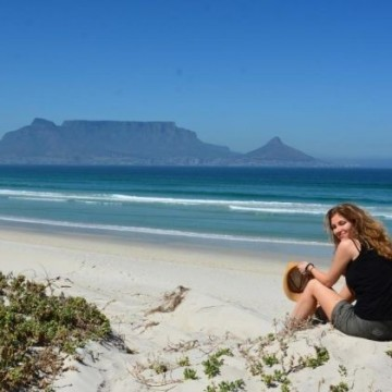 Една жена в Южна Африка