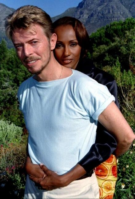 Дейвид Боуи и Иман – разказана любов