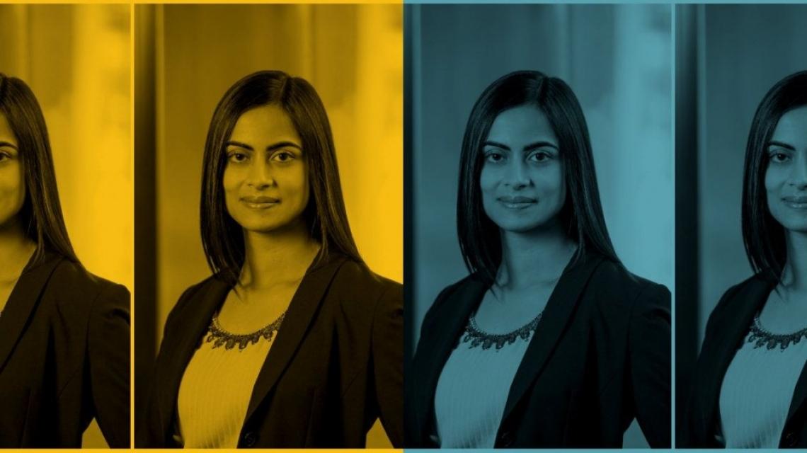 Индийското момиче, което изкачи върховете на General Motors