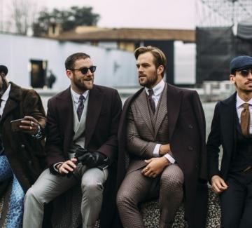 Къде бяха най-стилните мъже този месец?