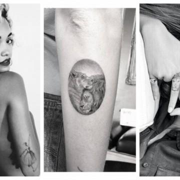 9 звездни момичета и техните татуировки