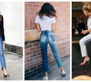 На шопинг за нови дънки: Защо двуцветните модели отново са must have?