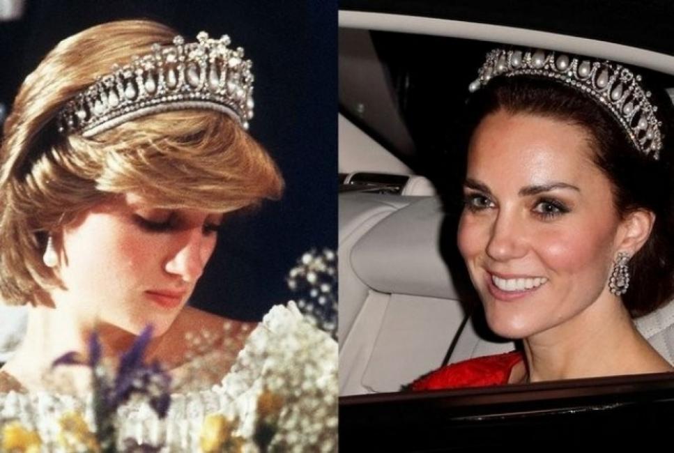 Кой носи днес бижутата на принцеса Даяна