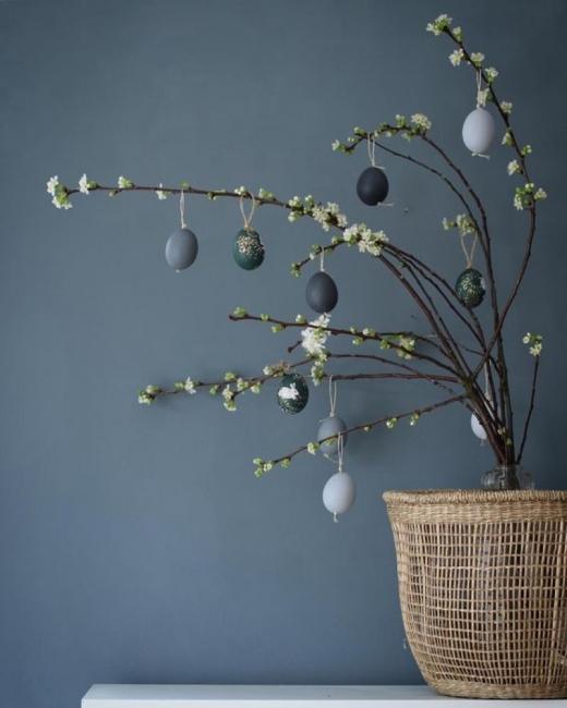 14 семпли великденски дръвчета за чудо и приказ