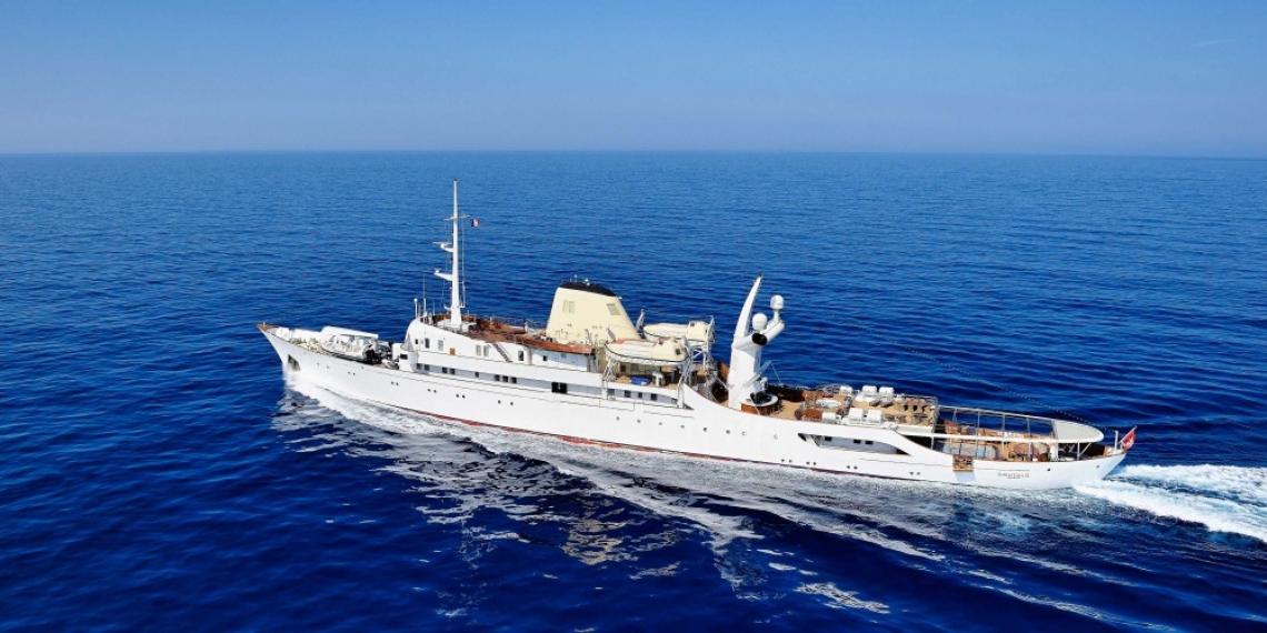 Вече можете да наемете яхтата на Аристотел Онасис