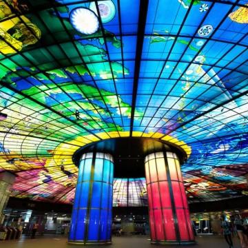 16 от най-красивите метростанции в света