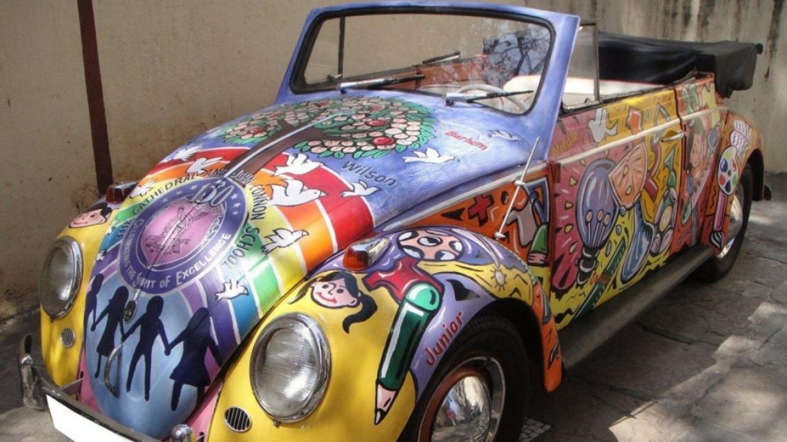 Шареният свят на легендарния VW Beetle е към края си