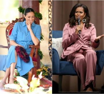 Какви въпроси зададе Меган Маркъл на Мишел Обама?