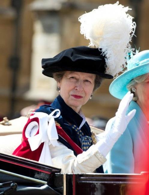 Принцеса Ан – единствената дъщеря на кралица Елизабет II