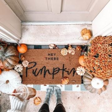 21 идеи за лесни есенни декорации у дома