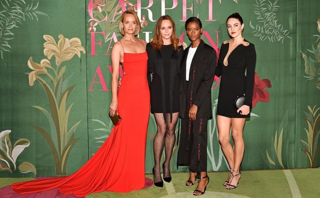 Най-красивите тоалети на Green Carpet Fashion Awards