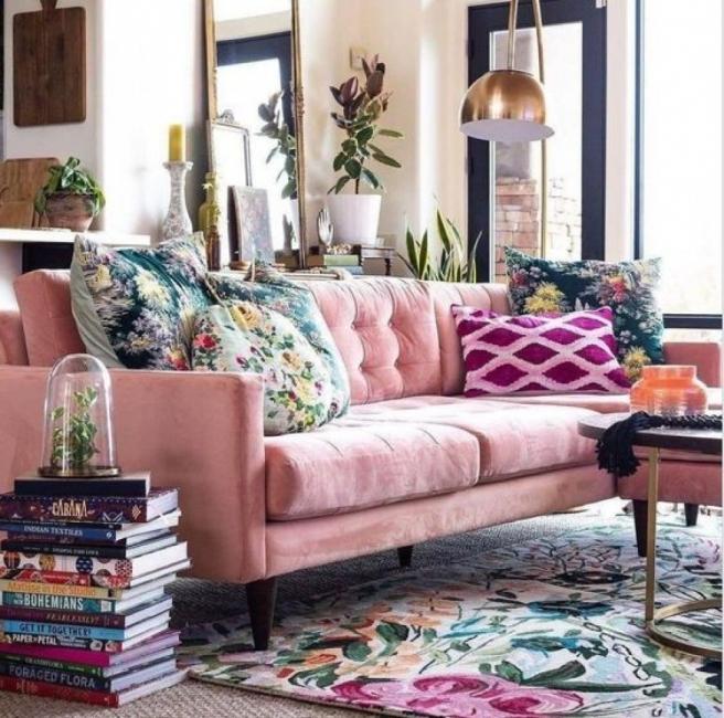 21 идеи, с които можем да добавим нещо розово в дома си