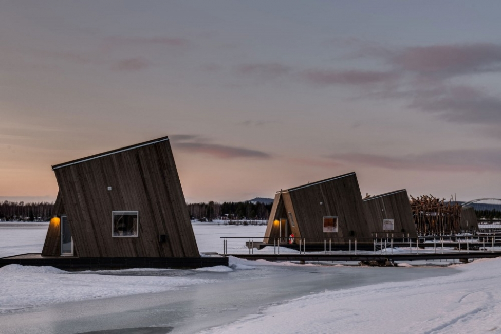 Плаващият хотел в Швеция
