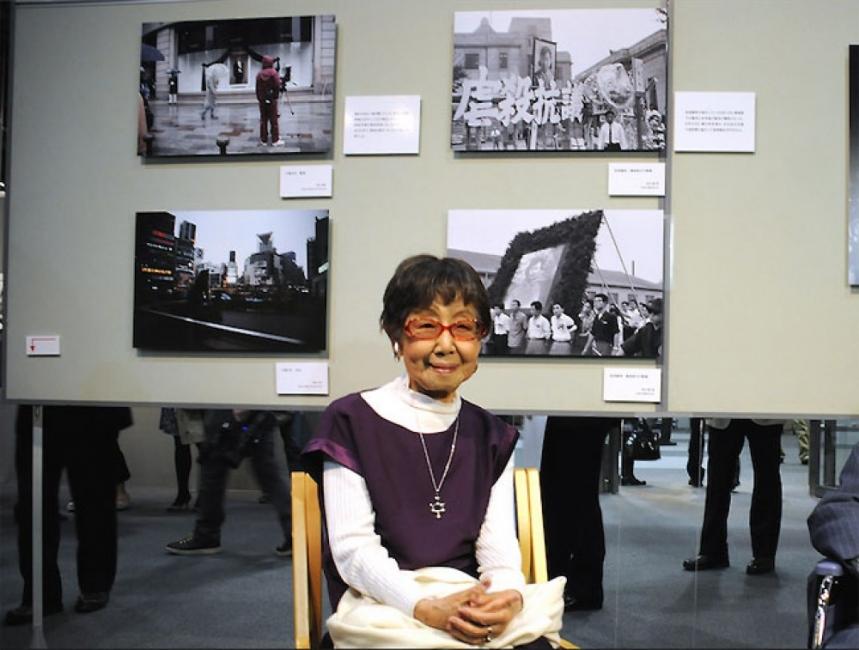Първата японска фотожурналистка продължава да снима и на 105 години