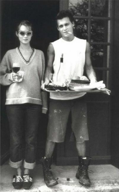Кейт Мос и Джони Деп - любовта е лудост