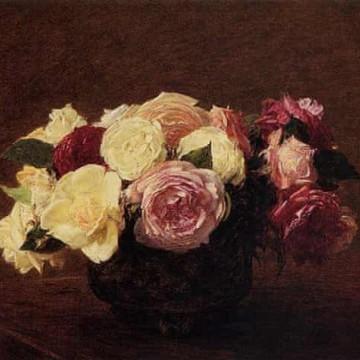 Кои са най-красивите и известни картини с цветя?