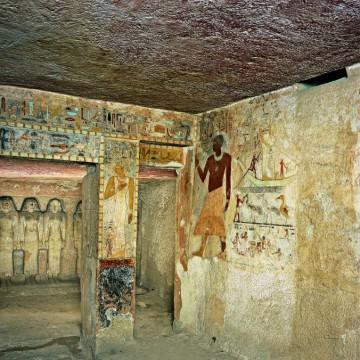 Да надникнем виртуално в 5000-годишна египетска гробница