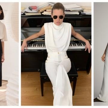 19 стайлинг идеи как да комбинираме тениска с елегантен панталон