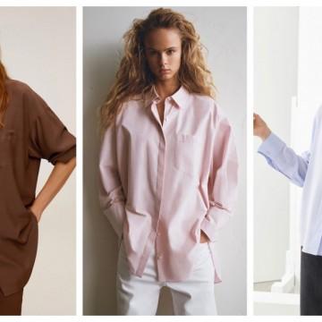 19 стайлинг идеи как да носим по-елегантно oversize риза