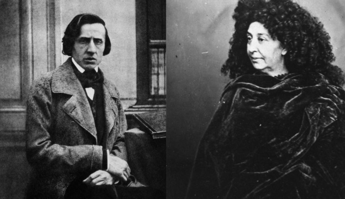 Фредерик Шопен и Жорж Санд: любов между редовете