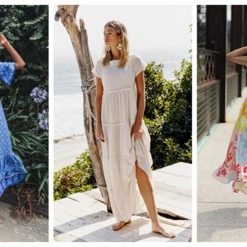 21 стайлинг идеи как да носим дълга лятна рокля