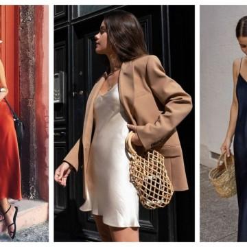 """17 рокли от коприна, с които """"разхлаждаме"""" лятото"""