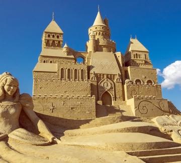 Фестивалът на пясъчните скулптури отваря врати
