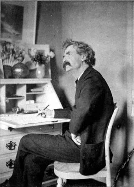 Какво е общото между Марк Твен и сутиена?