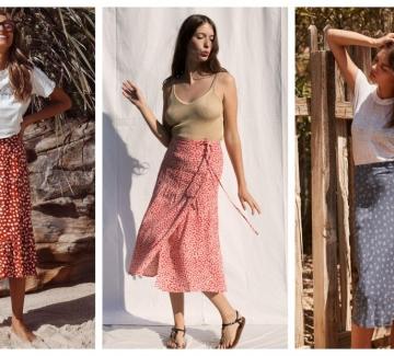 21 стайлинг идеи как да носим миди пола това лято