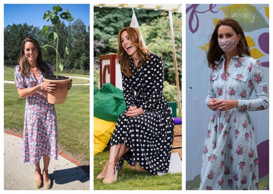 17 рокли от летния капсулен гардероб на Кейт Мидълтън
