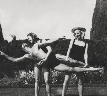 На море с руския балет на Монте Карло
