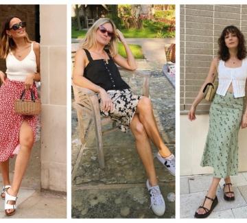 23 стайлинг идеи с поли във флорални мотиви за по-цветно лято