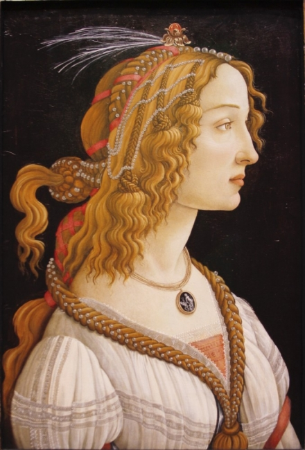 Симонета Веспучи – вероятно първото it момиче в историята