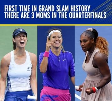 Тенисистките на US Open: майките, които правят история