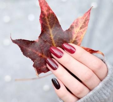 22 идеи за маникюр в цветовете на есента