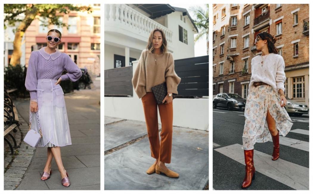 24 стайлинг идеи с пуловерите, които ще носим тази есен