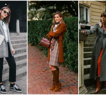 21 стайлинг идеи как да носим цветен шал през есента