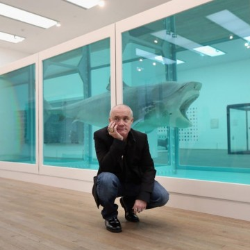 Деймиън Хърст с нова изложба